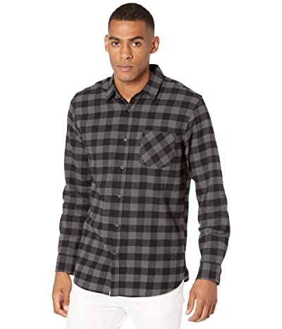 Rip Curl Check This Long Sleeve Shirt (Black) Men