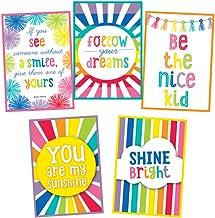 Schoolgirl Style   Hello Sunshine Inspirational Posters Chart Set   Printable