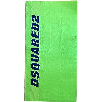 Asciugamano in Cotone D7P001330.709 Giallo 97x180 cm Dsquared Telo Mare