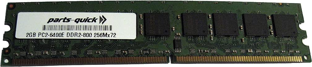 2GB PC2-6400 240 pin DDR2 800MHz ECC Unbuffered UB DIMM Server Memory for HP Compaq Workstation xw4600/CT (PARTS-QUICK BRAND)