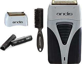 Andis ProFoil لیتیم پلاس تیتانیوم فویل با فویل جایگزین جایگزین و برش داخلی و یک تیغه BeauWis قلم مو