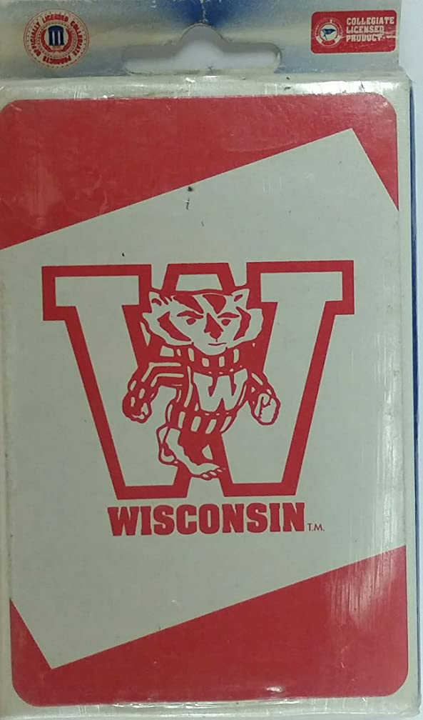 Wisconsin Badgers Playing Cards (2 Decks)