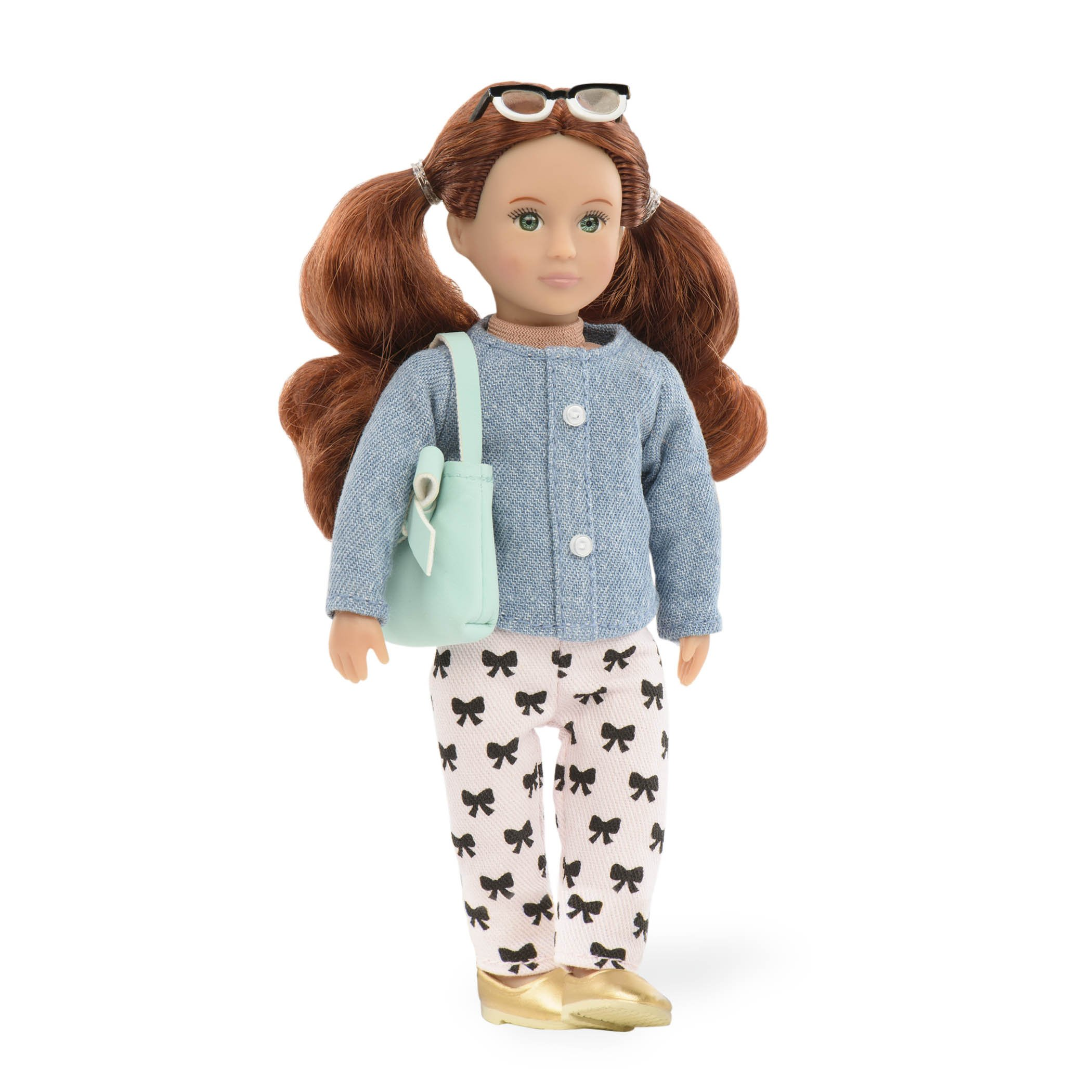 """Lori 6"""" Doll Clothes Sweet Simplicity Outfit w Purse Shoes Glasses /& Outfit Set!"""