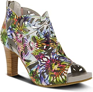 L'ARTISTE by Spring Step Amora Rainbow Multi Shoe US 8.5