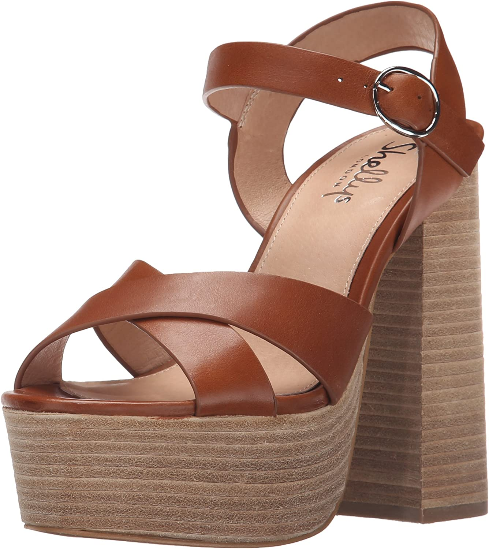 Shellys London Womens Lauren Platform Sandal