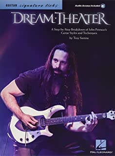 Dream Theater - Signature Licks: A Step-by-Step Breakdown of John Petrucci's Guitar Styles and Techniques (Bk/Online Audio)