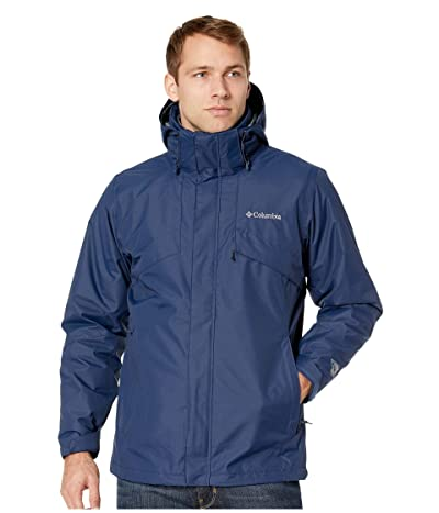 Columbia Bugabootm II Fleece Interchange Jacket (Collegiate Navy/Dark Mountain Heather) Men