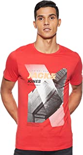 Jack & Jones Men's 12152187 Crew Neck S/S