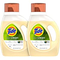 2-Pack Tide Purclean Plant-Based Laundry Detergent