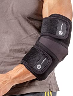 ActiveWrap Elbow Ice Wrap Hot Cold Packs for Tennis Elbow Treatment - X-Large