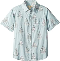 Sailboat Shirt (Toddler/Little Kids/Big Kids)