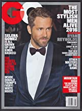 GQ Ryan Reynolds Selena Gomez Donald Trump Tom Hardy Drake + 5 2016