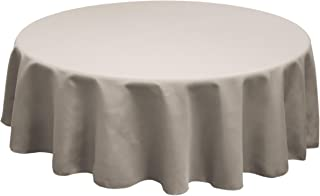 Best charcoal round tablecloth Reviews
