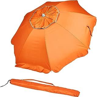 AmazonBasics Beach Umbrella - Orange
