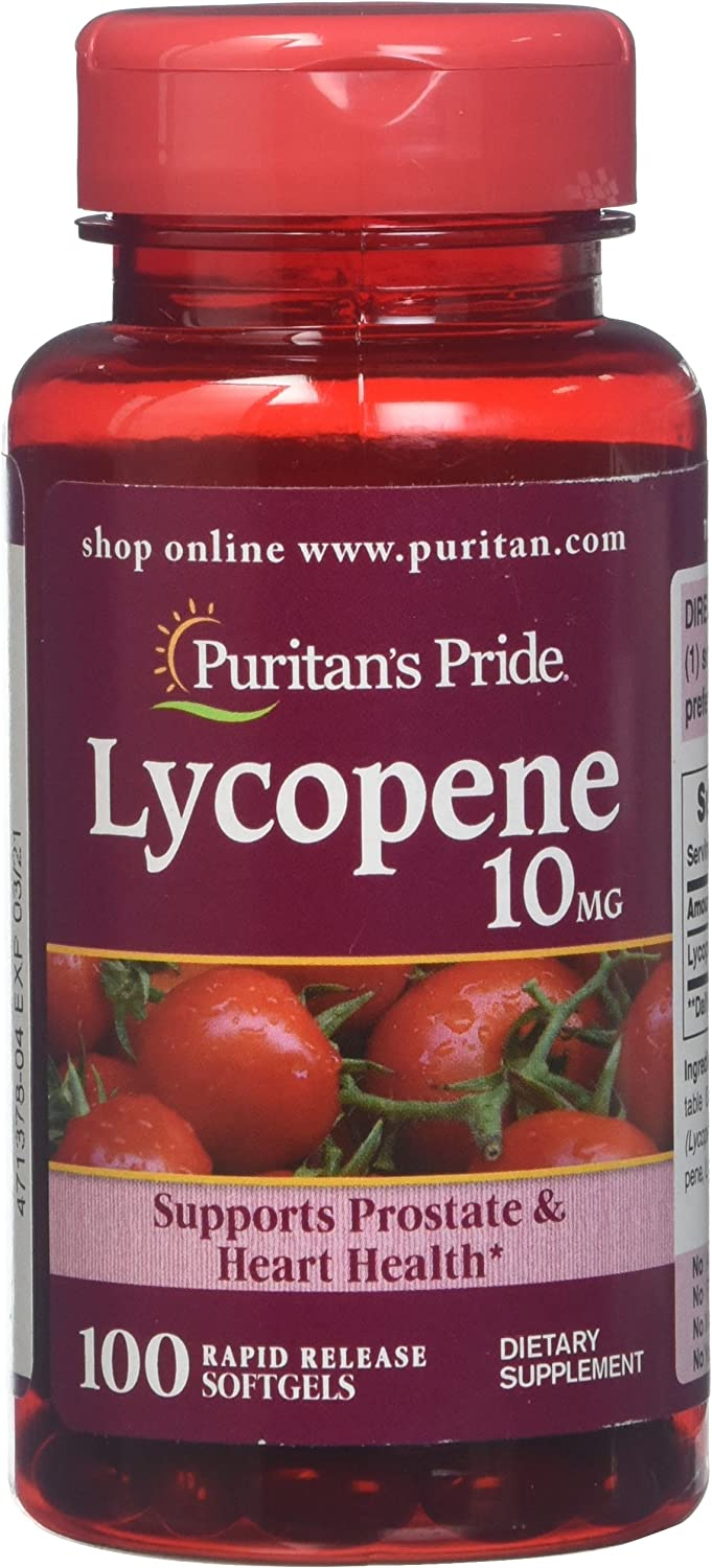 Lycopene Supplement Fees free for Cheap mail order sales Prostate and M Heart Health Support 10