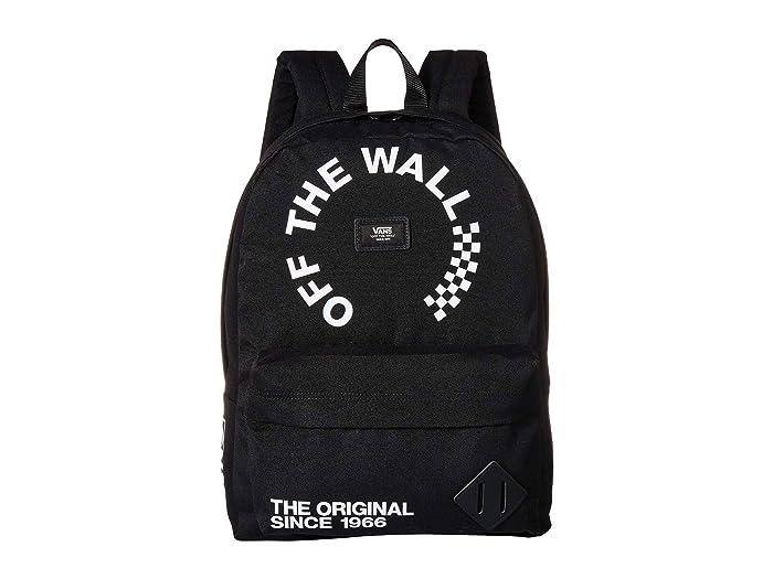 395a0104b1 Vans Old Skool II Backpack (Black/White 2) Backpack Bags