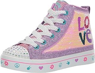 Skechers TWI-Lites 2.0 Lilac Love Violet (Lilac) Sequin Enfant Formateurs Chaussures