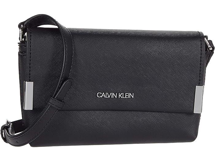 Calvin Klein Calvin Klein Key Item Flap Saffiano Crossbody