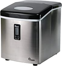 Chard IM-12SS, Ice Maker with LCD Display, Stainless Steel, 26 lbs. of Ice Per Day