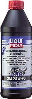 Liqui Moly Fully Synthetic Gear Oil (Gl 5) Sae 75W-90 1L - Black