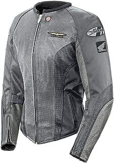 Joe Rocket 'Skyline 2.0' Womens Silver/Grey Mesh Motorcycle Jacket - Large