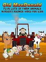 Old MacDonald Plus Lots Of Farm Animals - Nursery Rhymes Video For Kids