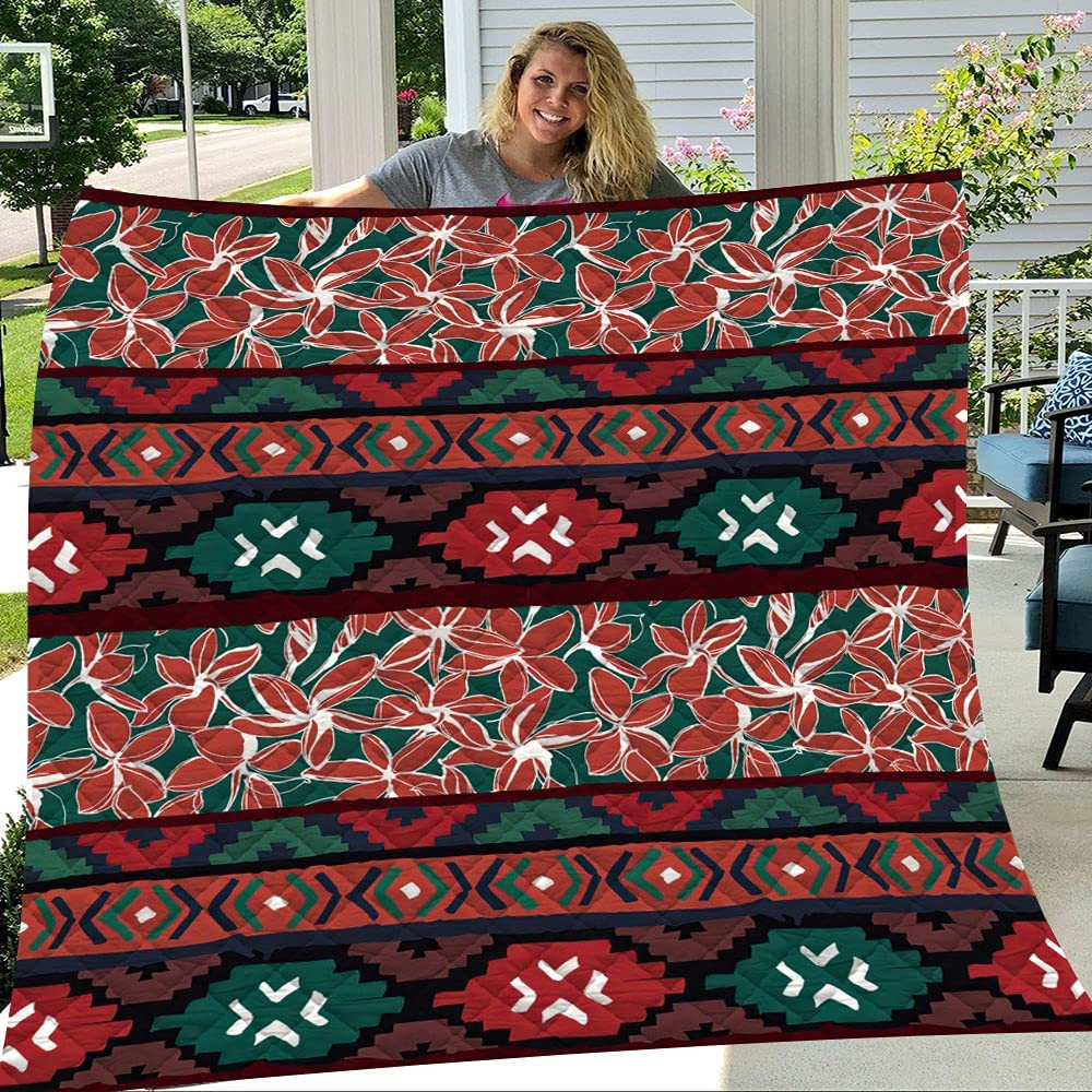 Geometric specialty shop Rare Ethnic Aztec Tropical Ultra Soft B Weight Quilts Light