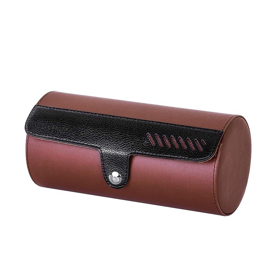 Watch Case, Travel Watch Roll for 3 Watch, Portable Watch Organizer
