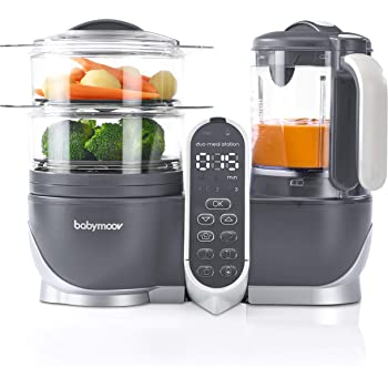 Duo Meal Station Food Maker   6 in 1 Food Processor with Steam Cooker, Multi-Speed Blender, Baby Purees, Warmer, Defroster, Sterilizer (2020 UPDATED VERSION)