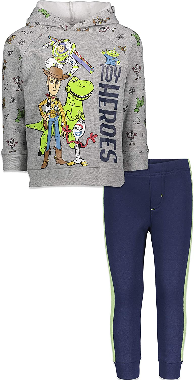 Disney Toy Story Boys Fleece Pullover Hoodie and Pants Set Sweatshirt