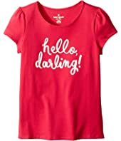 Kate Spade New York Kids - Hello Darling Tee (Little Kids/Big Kids)