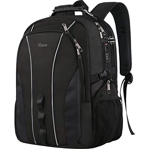 88fce1c3657c3c Large Travel Backpack, TSA Friendly Business Computer Backpack with  Security Lock/USB Charging Port