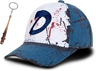 Clementine Hat,The Walking Dead Clementine Hat,The Walking Dead Hat Cap Clementine Baseball Hat for Women Men Blue