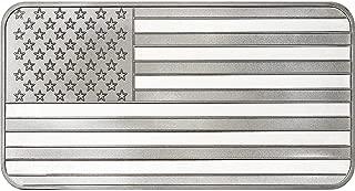 Flag Silver Bullion 1 Ounce .999 Fine Silver Bars Flag Silver Bullion 1 Ounce .999 Fine Silver Bars