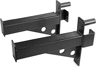 Valor Fitness MB-F Safety Bar Extension Accessory Set for BD-7 and BD-33 Power Racks