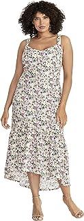 RACHEL Rachel Roy womens Plus Size Claudette Knit Jacquard Midi Dress Cocktail Dress