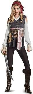 Women's POTC5 Captain Jack Sparrow Female Classic Adult Costume