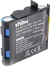 vhbw NiMH batterie 1500mAh (4.8V) pour appareil de médecine comme simulateur musculaire comme Compex 4H-AA1500, 941210, 941213