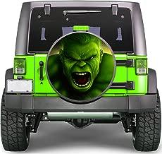 Hulk Superhero Sticker Full Color Spare Tire Cover Decal, Sticker Wheel Cover gc1620
