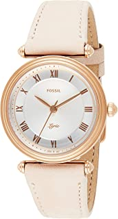 FOSSIL Leather Wrist Watch For Women