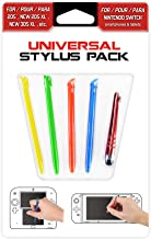 Subsonic Universal Stylus Pack for Nintendo New 2DS XL/New 3DS XL/3DS/2DS/DS/Switch/Smartphone/Tablet/Iphone and Ipad
