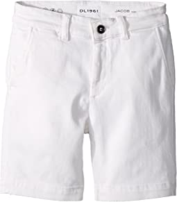 DL1961 Kids - Jacob Chino Shorts in Medallion (Big Kids)