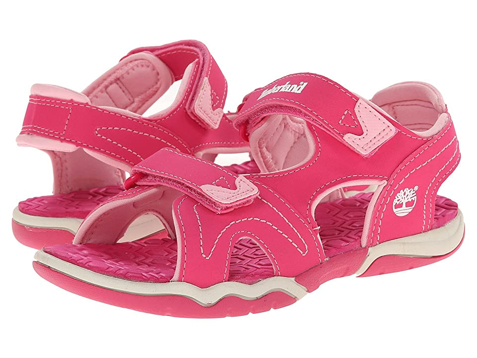 Timberland Kids Adventure Seeker 2 Strap Sandal (Little Kid) (Pink) Kids Shoes