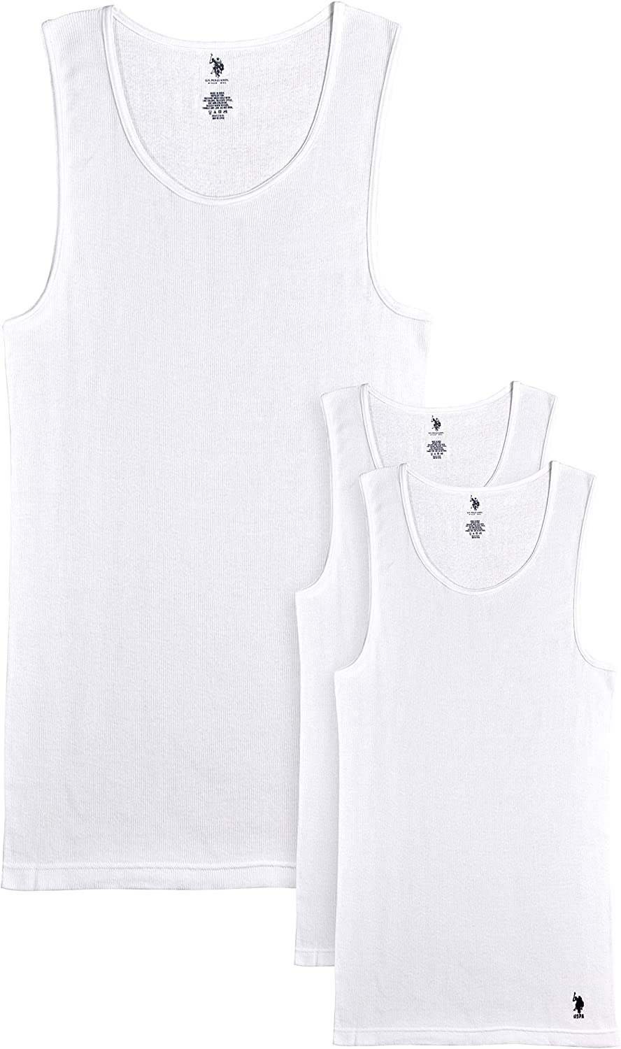 U.S. Polo Assn. Men's Undershirt - Ta A-Line Max 72% Discount mail order OFF Ribbed Big and Tall