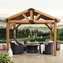 BackyardDiscovery 12' x 10' Brookdale Gazebo with Electric