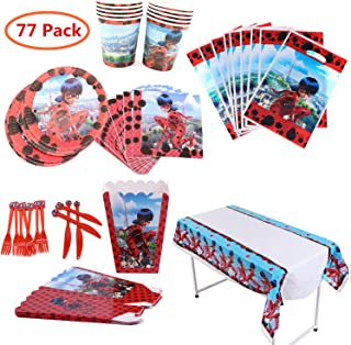 Best ladybug and cat noir party supplies Reviews