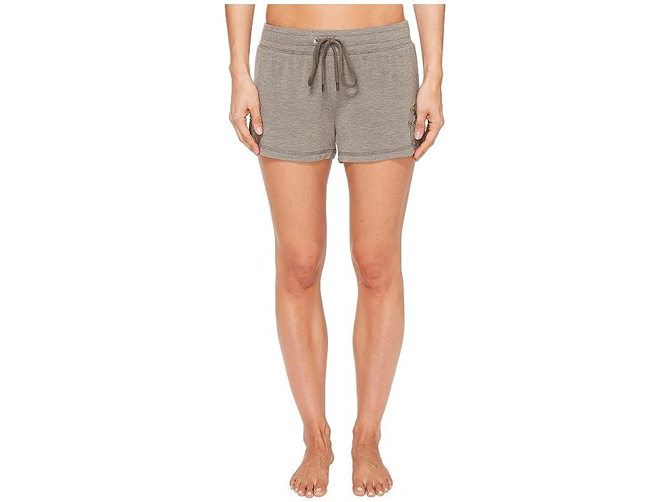 P.J. Salvage Laser Lounge PJ Shorts (Olive) Women
