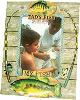 River's Edge Products My Fish My Dads Fish Picture Frame