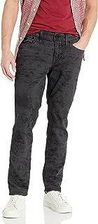 True Religion Men's Geno Slim Leg fit Jean with Back Flap Pockets