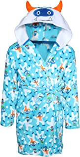 Plush Fleece Animal Character Hooded Robe (Toddler/Little Boys/Big Boys)